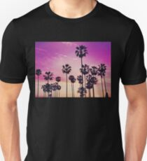 Purple Palm Tree District T-Shirt