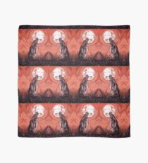 Moon Gazer Hare, Artwork Scarf