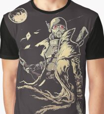 Fallout NCR Ranger Sketch Poster Graphic T-Shirt