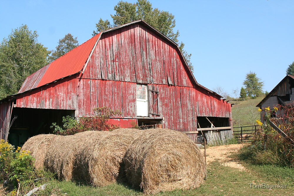 OLD TENNESSEE BARN by TomBaumker