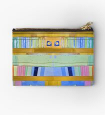 Abstract Bookcase Studio Pouch