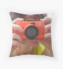 fisheye! Throw Pillow