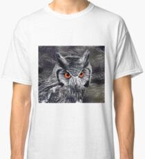 The Great Horned Owl Classic T-Shirt