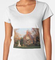The Chapel In Oak Hill Cemetery -- Home Sweet Home Women's Premium T-Shirt