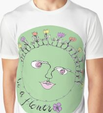 Be A Flower Graphic T-Shirt
