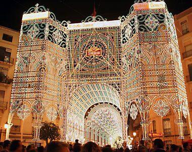Fallas Festival in Valencia, Spain by chord0