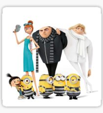 Despicable me 3 Sticker