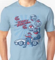 Go Kart Racer, Go Slim Fit T-Shirt