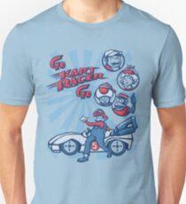 Go Kart Racer, Go Slim Fit T-Shirt