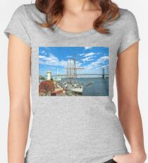 Seafaring  Women's Fitted Scoop T-Shirt
