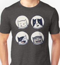 CatStronauts-Team Heads! T-Shirt
