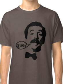 Fawlty Towers Manuel Que T-Shirt Classic T-Shirt