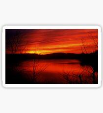 A Sunset Mood Sticker