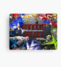 Random Select: The Angry Gamers Corner Canvas Print
