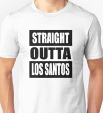 Grand Theft Auto V: Straight Outta Los Santos  T-Shirt