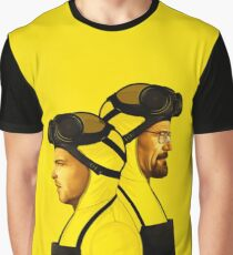 Breaking Bad - Jesse and Walt/Heisenberg Graphic T-Shirt