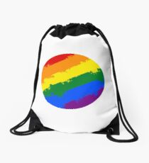 Come Out Come Out Art Design Drawstring Bag