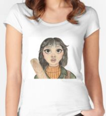 Here's Wendy!  The Shining.  Women's Fitted Scoop T-Shirt