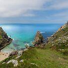 Porthmoina cove west Penwith Cornwall by eddiej
