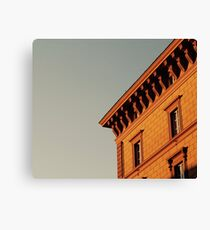 Rome Street View Canvas Print