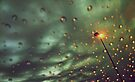 Windshield Raindrops by lindsycarranza