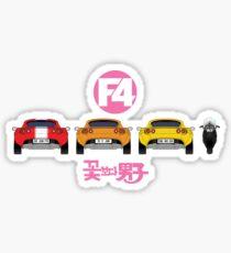 The F4 Sticker