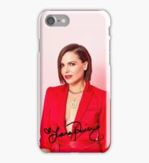 Lana Parrilla Autograph 2017 iPhone Case/Skin
