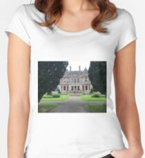 Castle Leslie - Northern Ireland  Women's Fitted Scoop T-Shirt