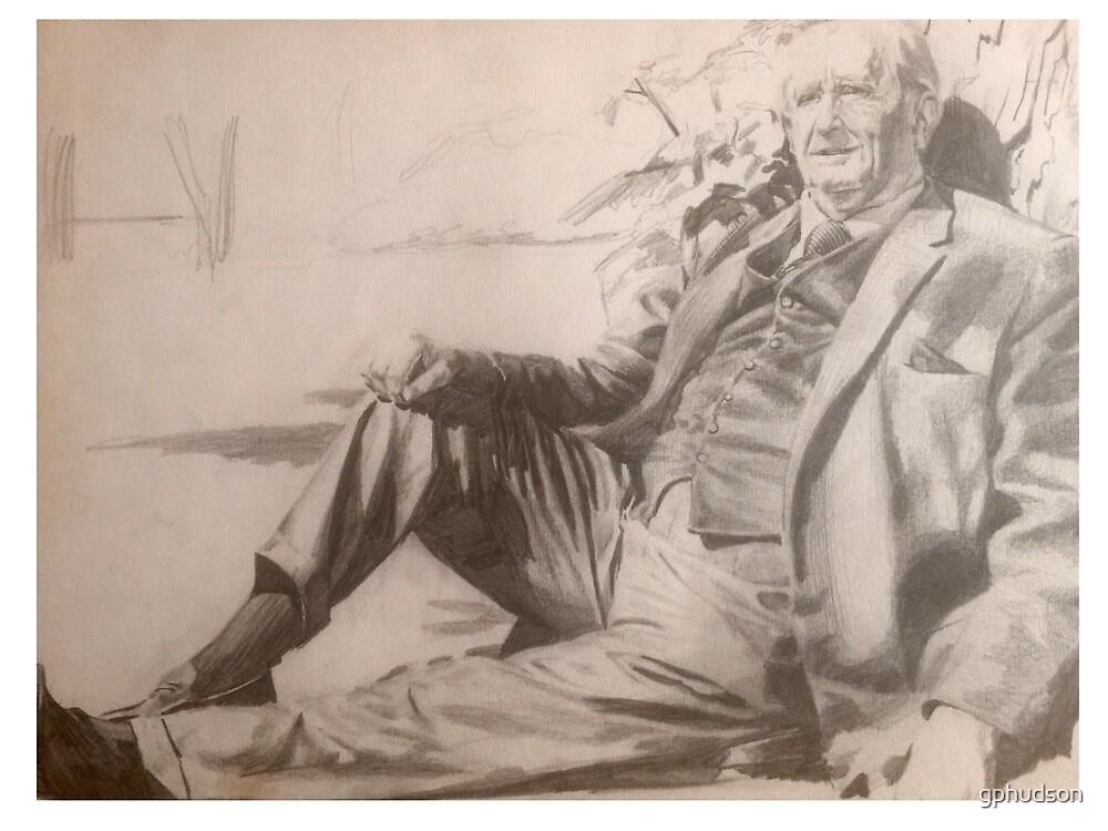 Tolkien at Rest by gphudson