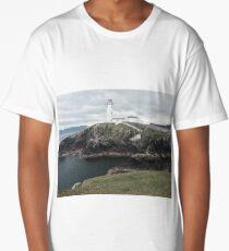 Northern Ireland Lighthouse  Long T-Shirt