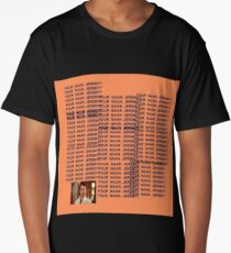 Peep Show - Four Naan Jeremy Life of Pablo Cover Long T-Shirt