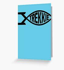 Star Trek Fan Trekkie T-Shirt Greeting Card