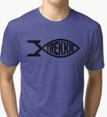 Star Trek Fan Trekkie T-Shirt Tri-blend T-Shirt