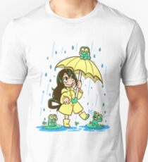 Best Frog Girl Unisex T-Shirt