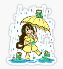 Best Frog Girl Sticker