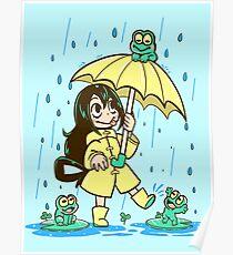 Bestes Frosch-Mädchen Poster