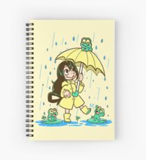 Best Frog Girl Spiral Notebook