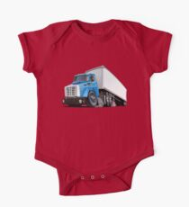 Cartoon semi truck Kids Clothes
