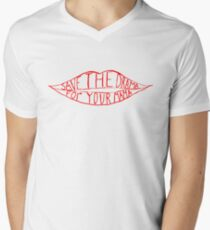 Save the drama for your mama Men's V-Neck T-Shirt