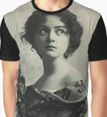 Young Faces from the past Series by Adam Asar, No 82 Graphic T-Shirt