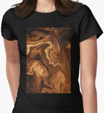 Moment Before The Kiss Women's Fitted T-Shirt