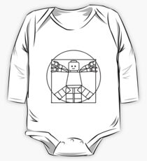 Vitruvian Minifigure One Piece - Long Sleeve