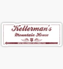 Kellermans Mountain House (Dirty Dancing) (Faded) Sticker