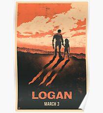 Logan - Alternate Minimalist Movie Poster Poster