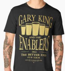 Gary King and the Enablers Men's Premium T-Shirt