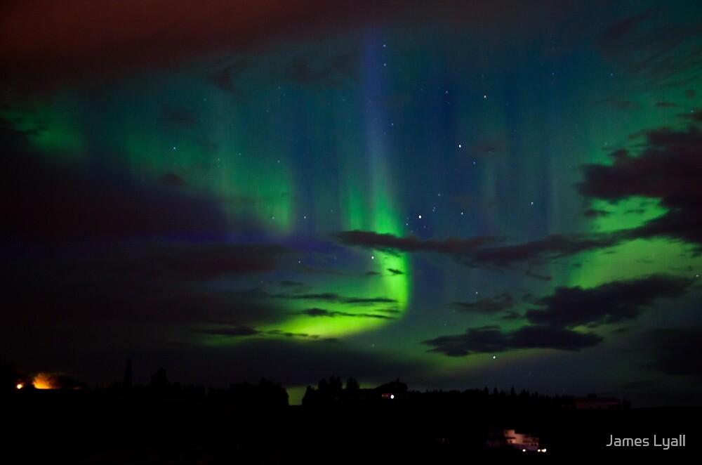 Edmonton Aurora Borealis by James Lyall