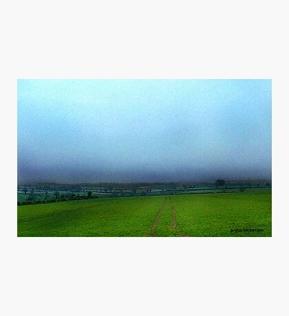 Stormy English Countryside Photographic Print