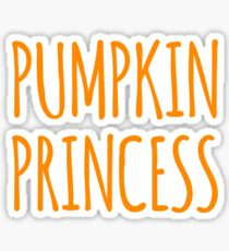 pumpkin princess Sticker