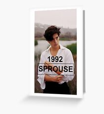 Cole Sprouse  Greeting Card