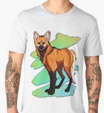 Maned Wolf Men's Premium T-Shirt